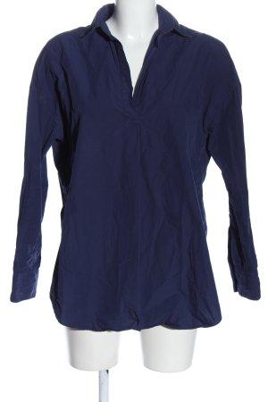 Uniqlo Hemd-Bluse blau Business-Look