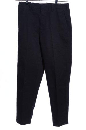 Uniqlo Hoge taille broek zwart zakelijke stijl