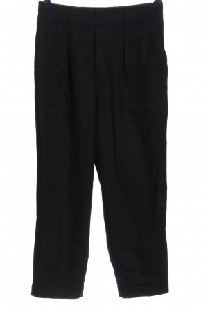 Uniqlo High-Waist Hose schwarz Business-Look