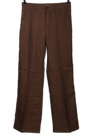 Uniqlo High-Waist Hose braun Casual-Look