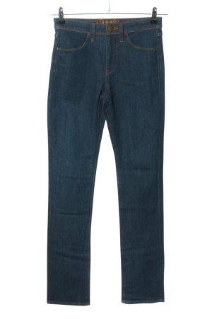 Uniqlo High Waist Jeans blau Casual-Look