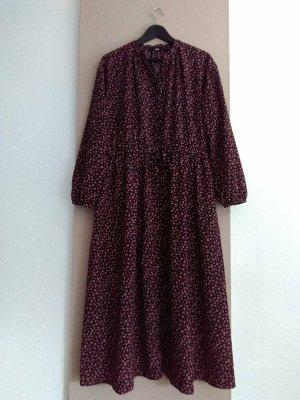 Uniqlo hübsches geblümtes Hemdblusenkleid, Grösse L