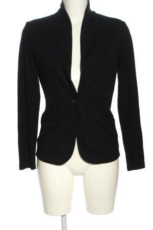 Uniqlo Blazer in jersey nero stile casual