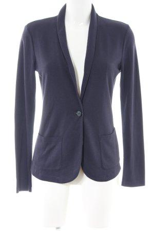 Uniqlo Jerseyblazer blau Business-Look