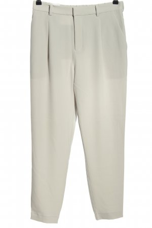Uniqlo Pantalon fuselé gris clair style d'affaires