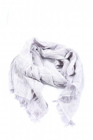 Uniqlo Crinkle Scarf lilac casual look