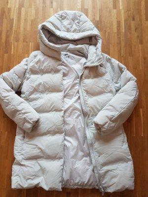 Uniqlo Manteau en duvet gris clair