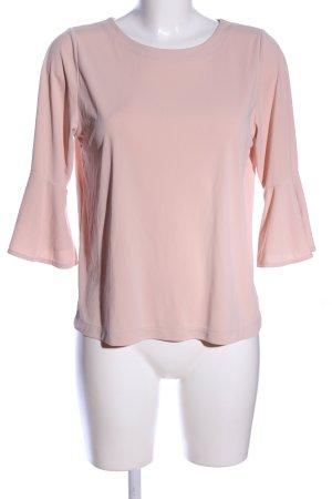 Uniqlo Langarm-Bluse pink Business-Look