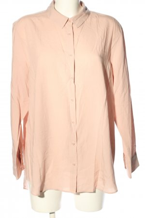 Uniqlo Langarm-Bluse pink Casual-Look