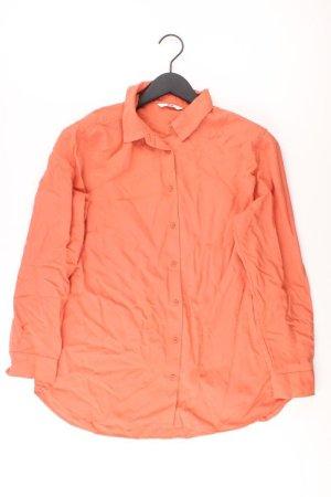 Uniqlo Langarmbluse Größe L orange aus Viskose