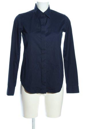 Uniqlo Camicia a maniche lunghe nero stile professionale