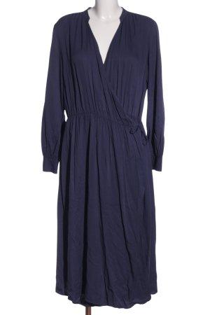 Uniqlo Longsleeve Dress blue casual look