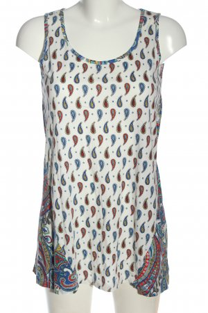 Uniqlo Lange top abstract patroon casual uitstraling