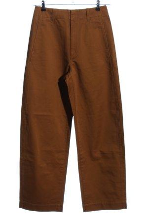 Uniqlo Pantalon Marlene brun style décontracté