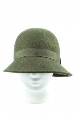 Uniqlo Bowler Hat khaki casual look
