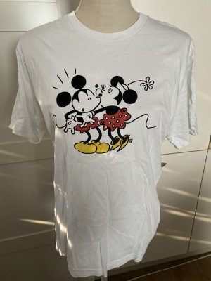 Uniqlo T-shirt multicolore Cotone