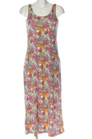 Uniqlo Tube Dress allover print casual look