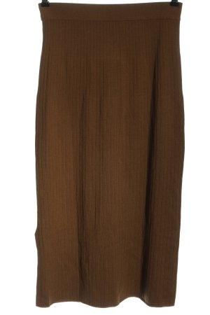 Uniqlo Spódnica midi brązowy W stylu casual