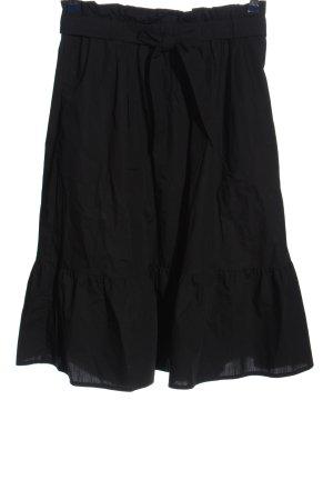 Uniqlo Spódnica midi czarny W stylu casual