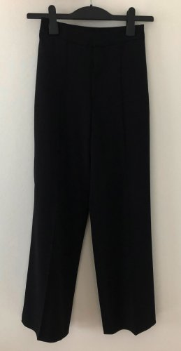 Uniqlo Pantalon Marlene noir polyester