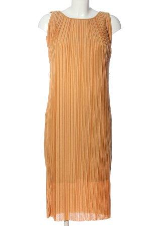 Uniqlo Sukienka z halką jasny pomarańczowy W stylu casual