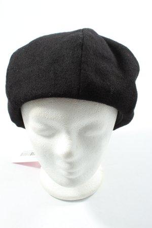 Uniqlo Beret black casual look