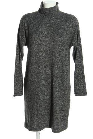 Uniqlo Pulloverkleid hellgrau meliert Casual-Look