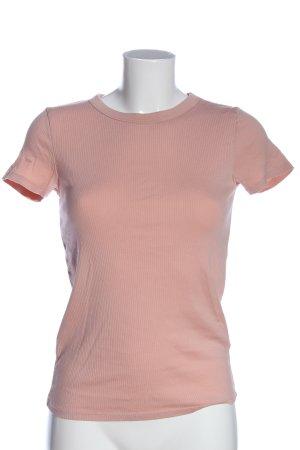 Uniqlo Chemise côtelée rose style décontracté