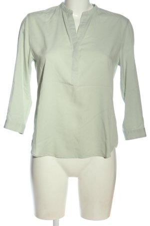 Uniqlo Schlupf-Bluse grün Business-Look