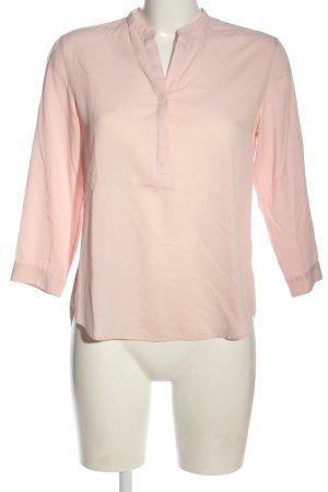 Uniqlo Schlupf-Bluse pink Business-Look