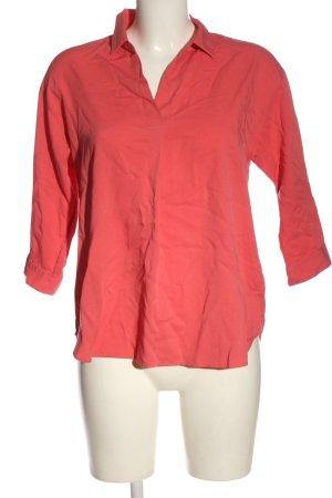 Uniqlo Schlupf-Bluse rot Casual-Look