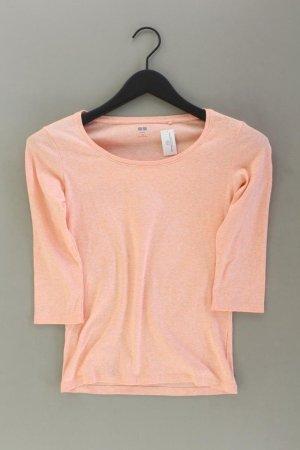 Uniqlo Shirt Größe M 3/4 Ärmel orange