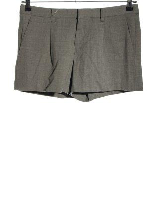 Uniqlo Shorts hellgrau Streifenmuster Casual-Look