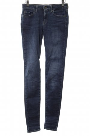Uniqlo Skinny Jeans blau Casual-Look