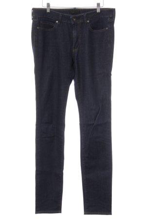 Uniqlo Skinny Jeans dunkelblau Casual-Look