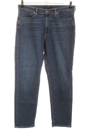 Uniqlo Slim jeans blauw casual uitstraling
