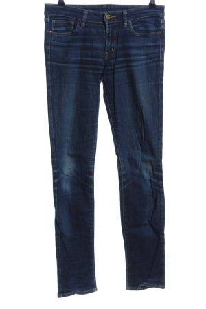 Uniqlo Slim Jeans blau Casual-Look