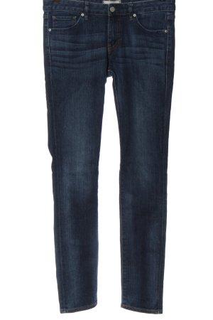 Uniqlo Slim Jeans blue casual look