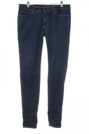 Uniqlo Slim Jeans dunkelblau Casual-Look