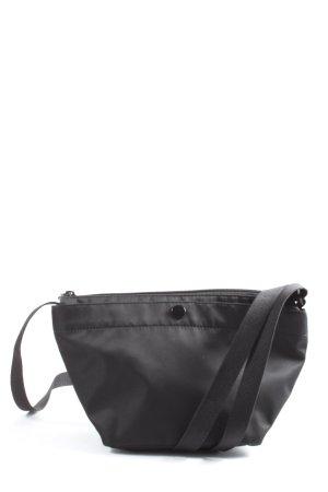 Uniqlo Stoffen tas zwart casual uitstraling