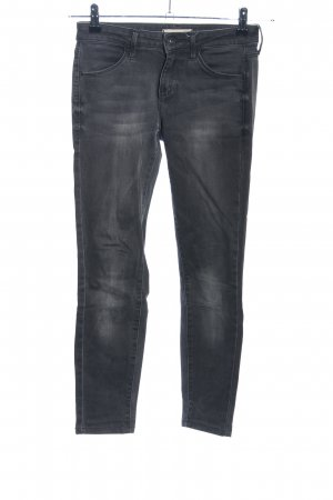 Uniqlo Stretch Jeans schwarz Casual-Look