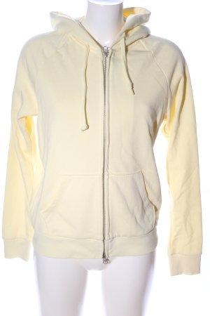 Uniqlo Giacca fitness giallo pallido stile casual