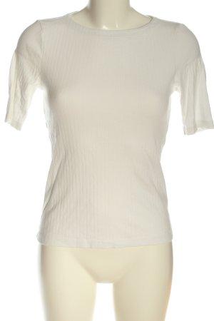 Uniqlo T-Shirt wollweiß Casual-Look