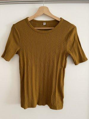 Uniqlo Turtleneck Shirt sand brown
