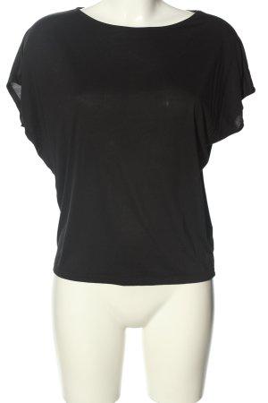 Uniqlo T-Shirt schwarz Casual-Look