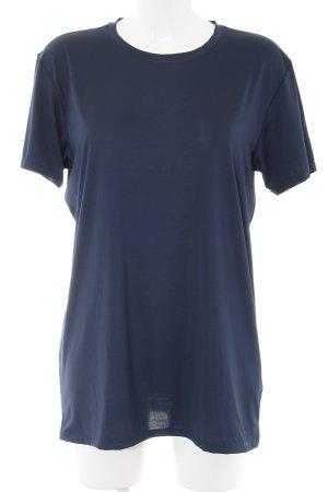 Uniqlo T-Shirt blau Casual-Look