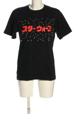 Uniqlo T-Shirt Schriftzug gedruckt Casual-Look