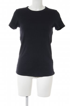 Uniqlo T-Shirt dunkelblau Casual-Look