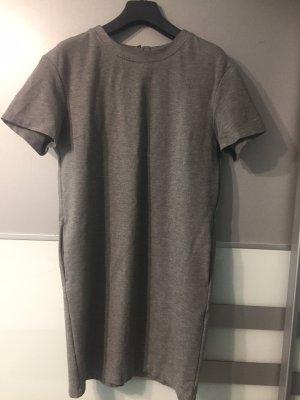 UNIQLO t-Shirt Kleid hellgrau S