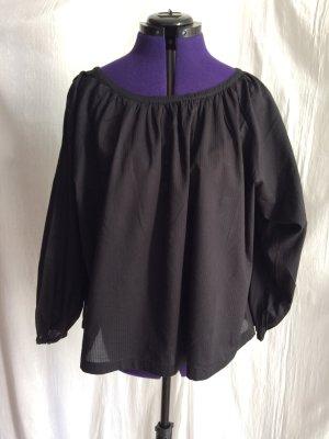 Uniqlo - weite schwarze Bluse